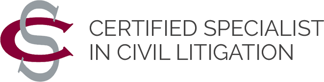 Certified Specialist in Civil Litigation